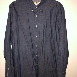 Club Room long sleeve shirt - slim fit - Large